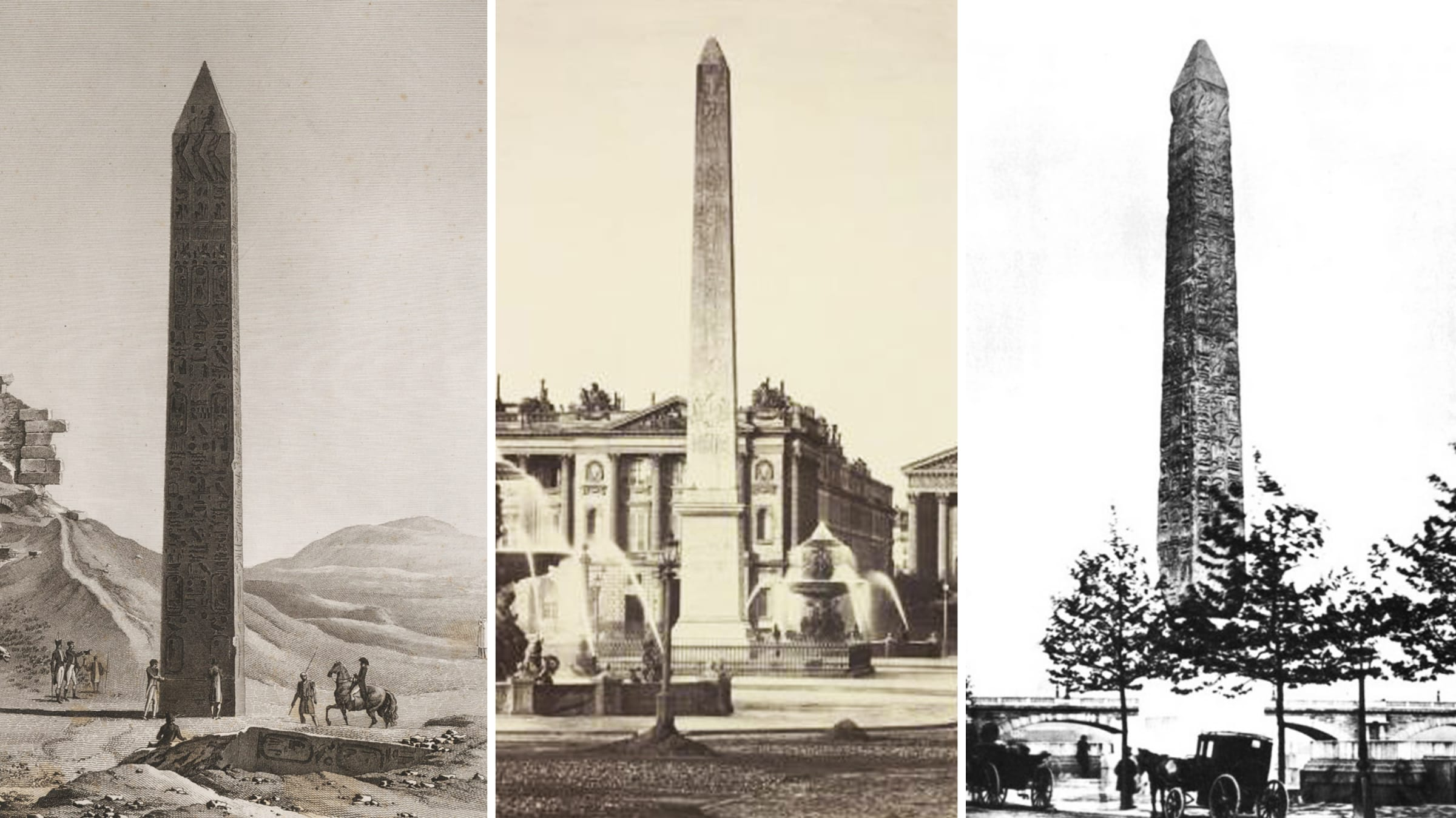 Cleopatra, Napoleon, Queen Victoria and a Vanderbilt: How Three Ancient Egyptian Obelisks Ended Up Halfway Across the World in New York City, Paris, and London