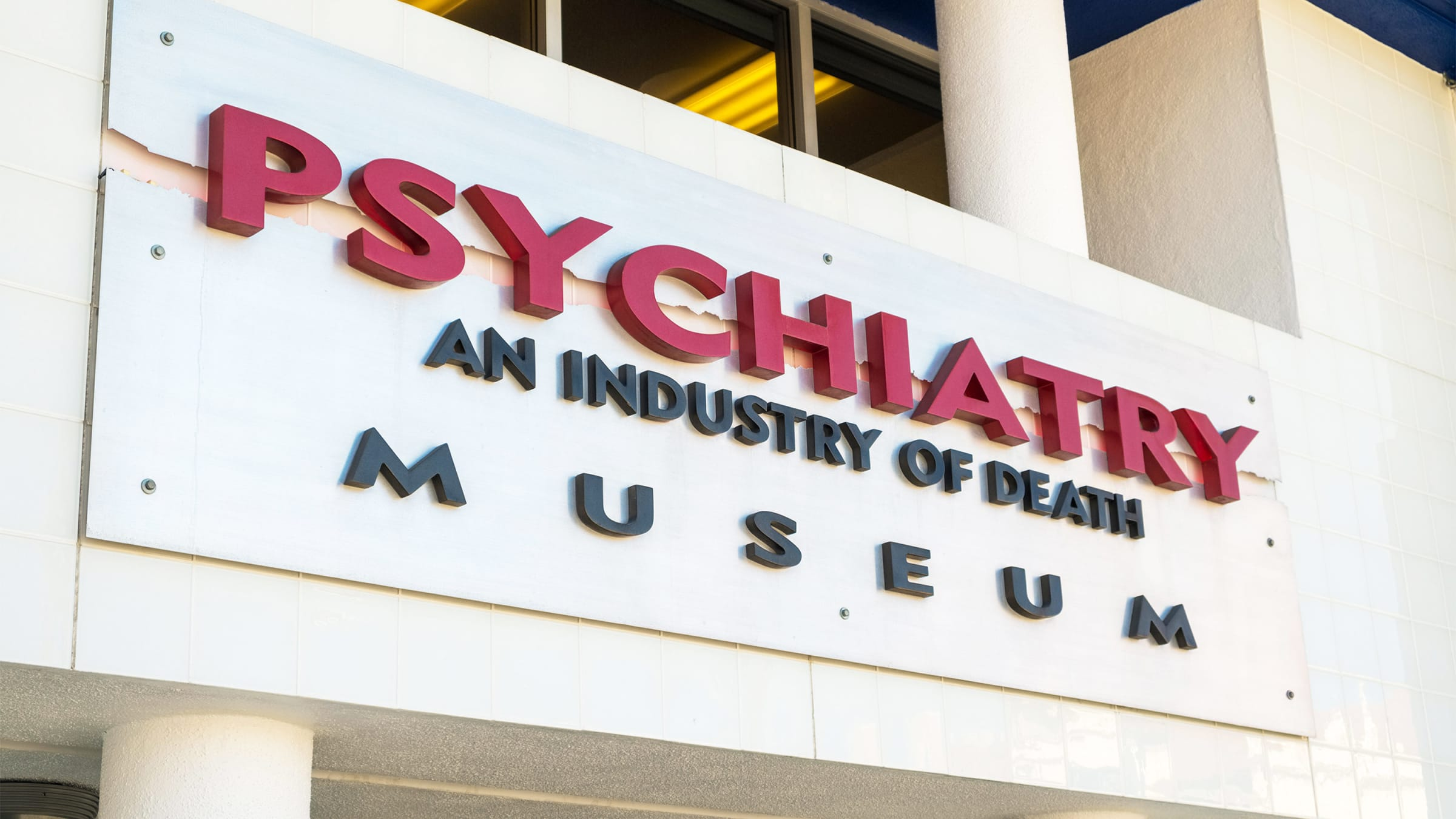 Inside Scientology's Secret Propaganda Museum Blaming 9/11 and the Holocaust on Psychiatry