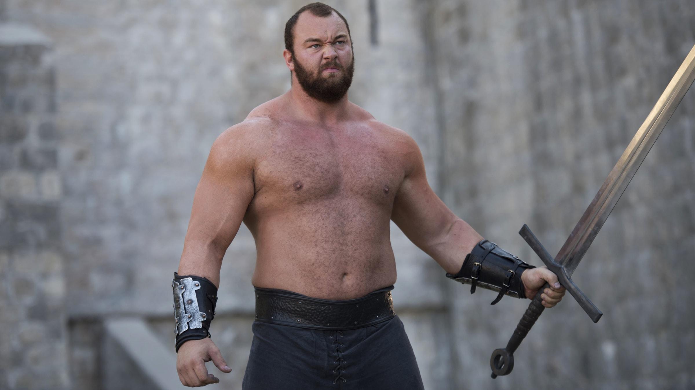 Hafpor Julius Bjornsson, Game of Thrones' Imposing Monster The