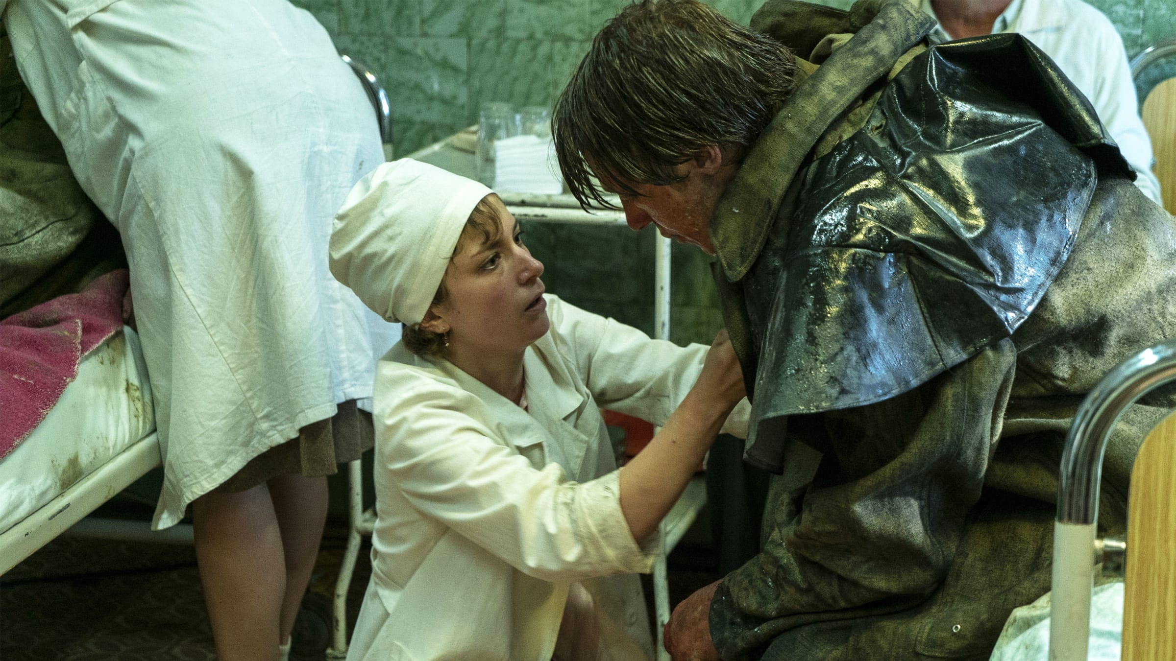 Chernobyl Survivors Watch HBO Series in Horror