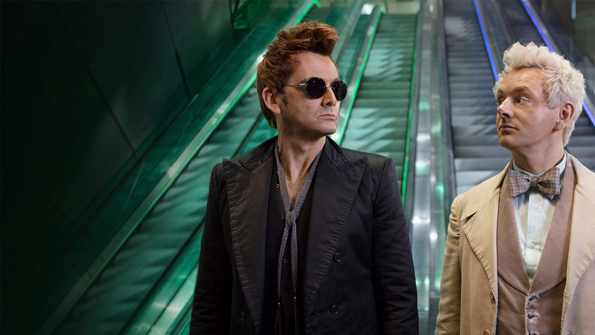 Former 'Doctor Who' David Tennant's Latest Regeneration: A Punk-Rock Demon in 'Good Omens'