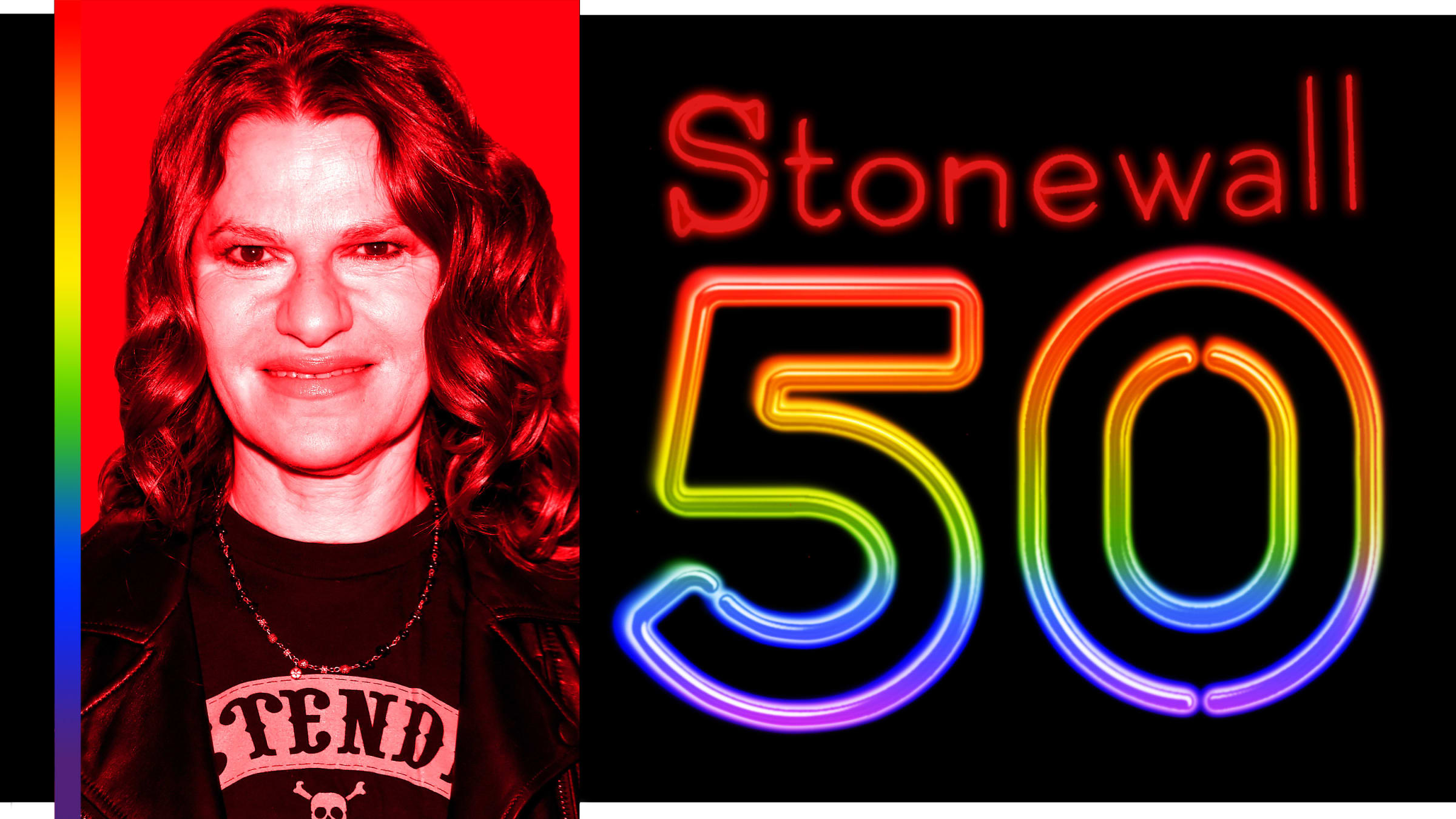 Sandra Bernhard on Stonewall 50: 'The Gay Community Should Help Lift All Other Marginalized People Up'