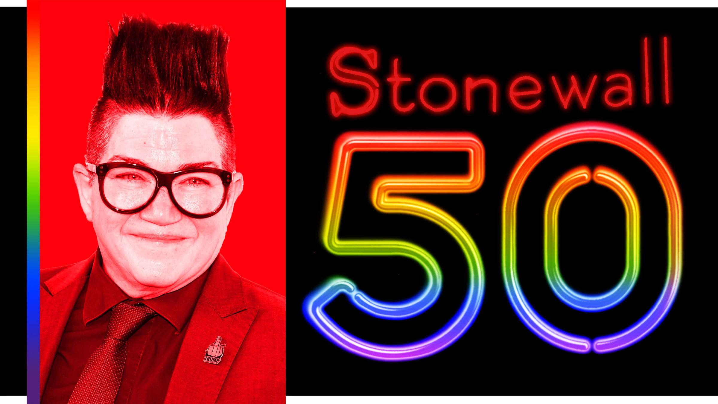 Lea DeLaria on Stonewall 50: 'Change Comes From Perseverance, Dedication, and Balls. The Fight Continues.'