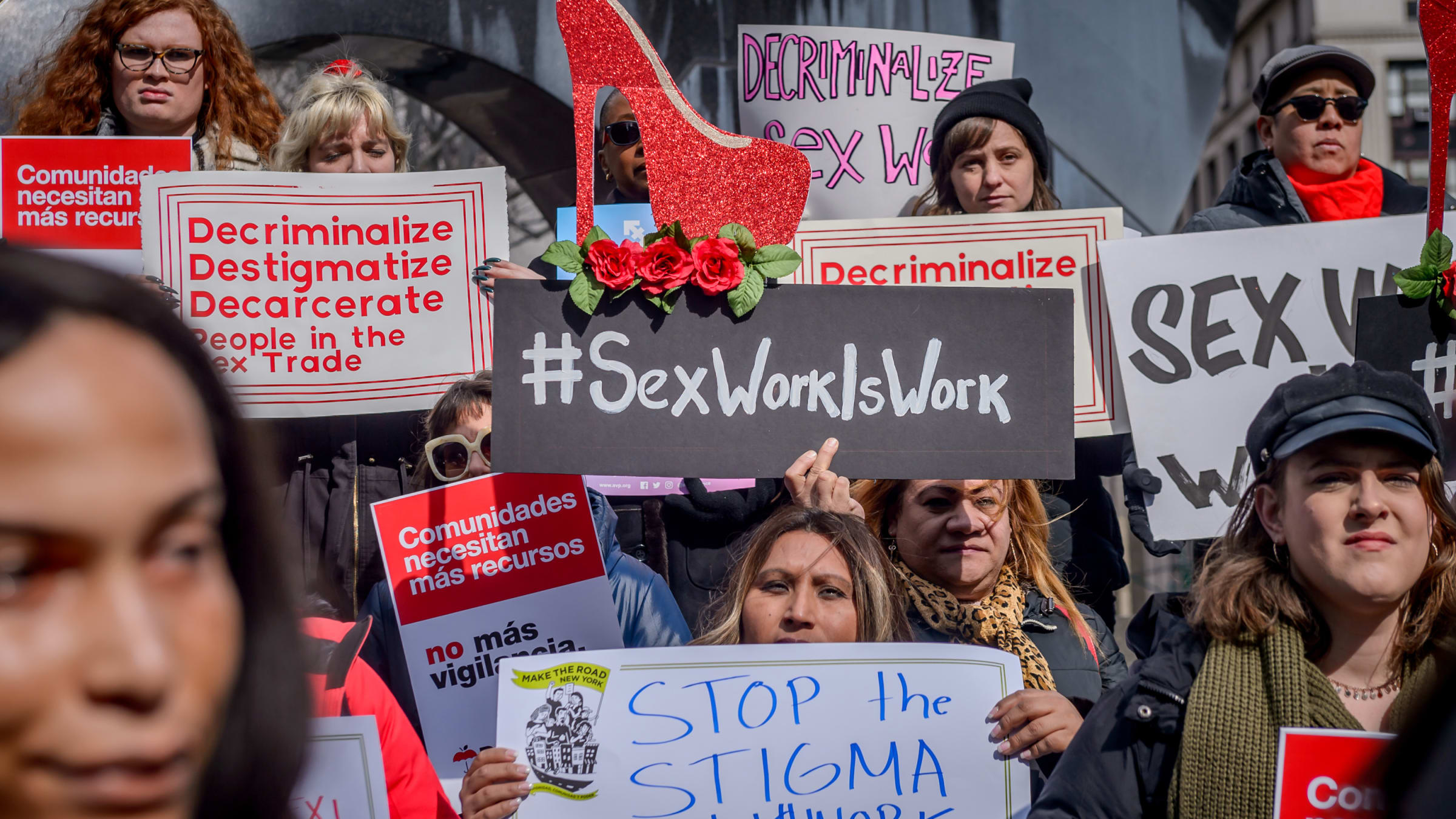 These Transgender Latinas Want New York State to Decriminalize Sex Work