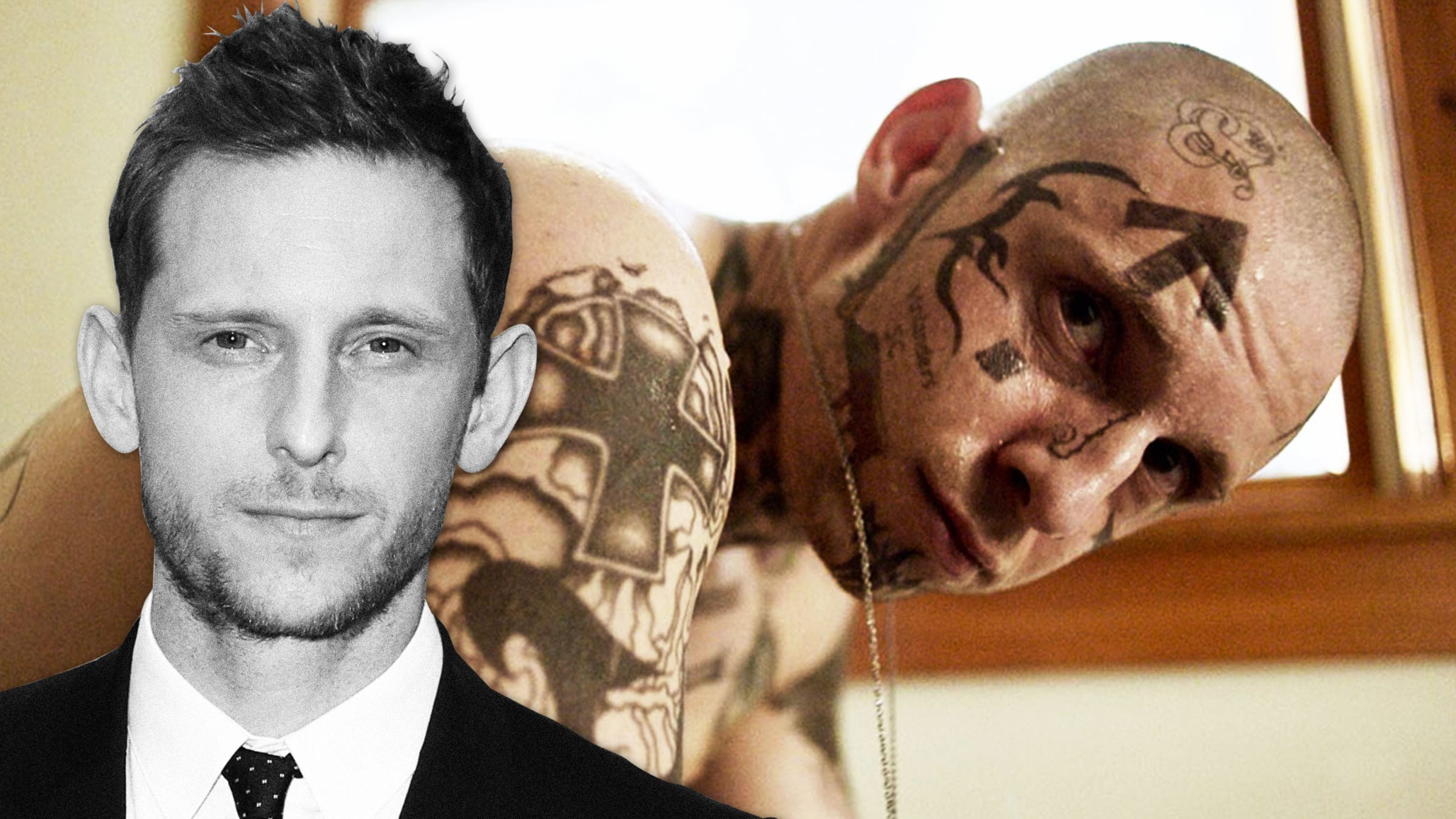 Jamie Bell on His Neo-Nazi in 'Skin' and How Trump's 'Send Her Back' Rally Reminded Him of Nazi Germany