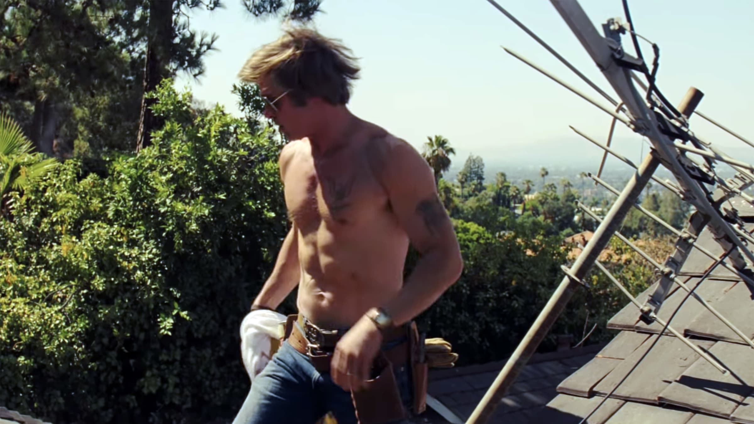 Brad Pitt Is This Summer's Reigning King of the Shirtless Movie Scene