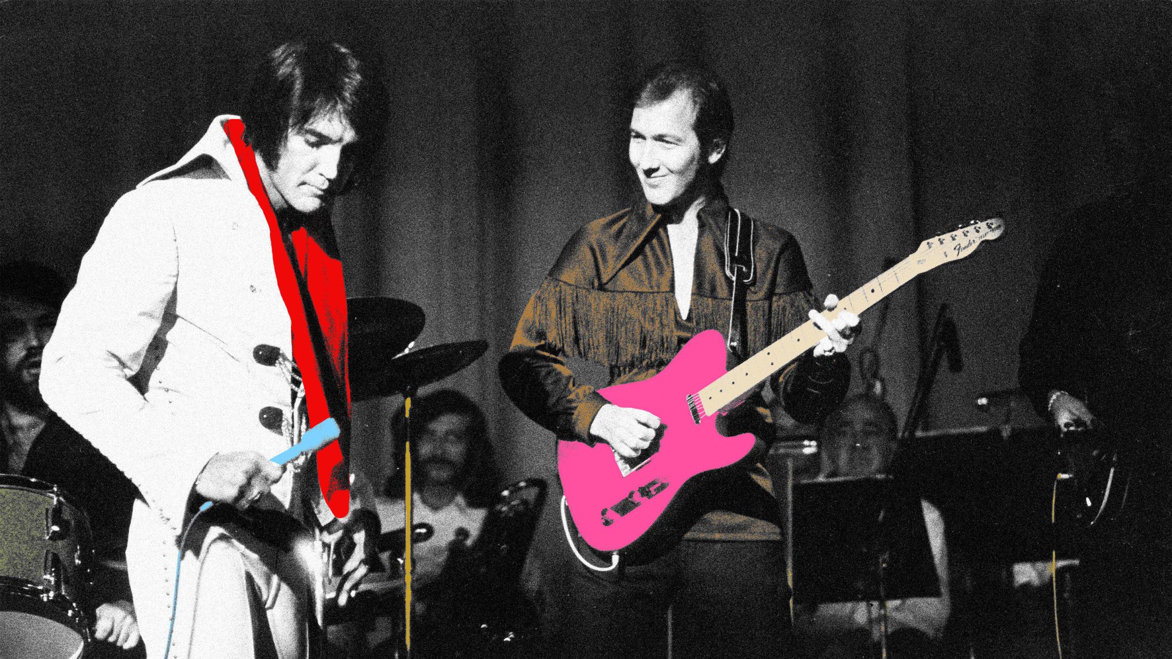Elvis Presley's Bandleader Looks Back on His Wild Vegas Years: 'Elvis Was Really Nervous'