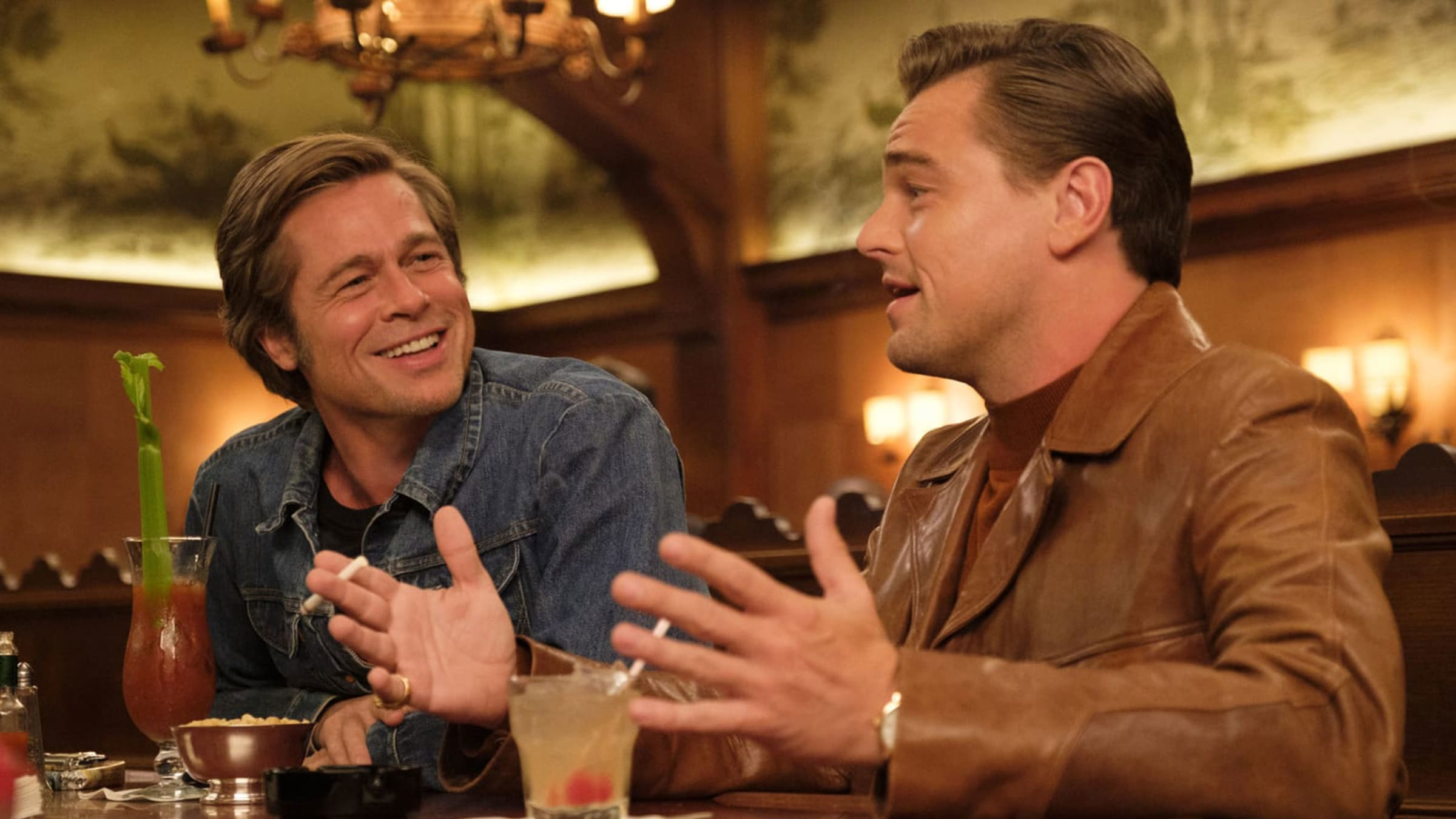 Drinking & Partying like Brad Pitt and Leonardo DiCaprio