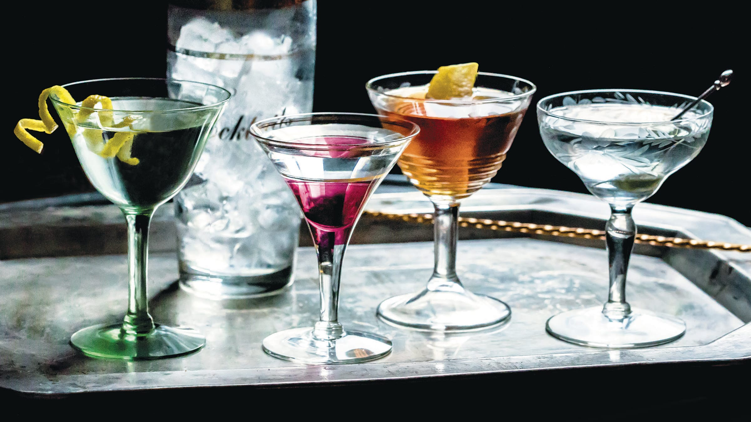 The Martini: The King of Cocktails & Opinions