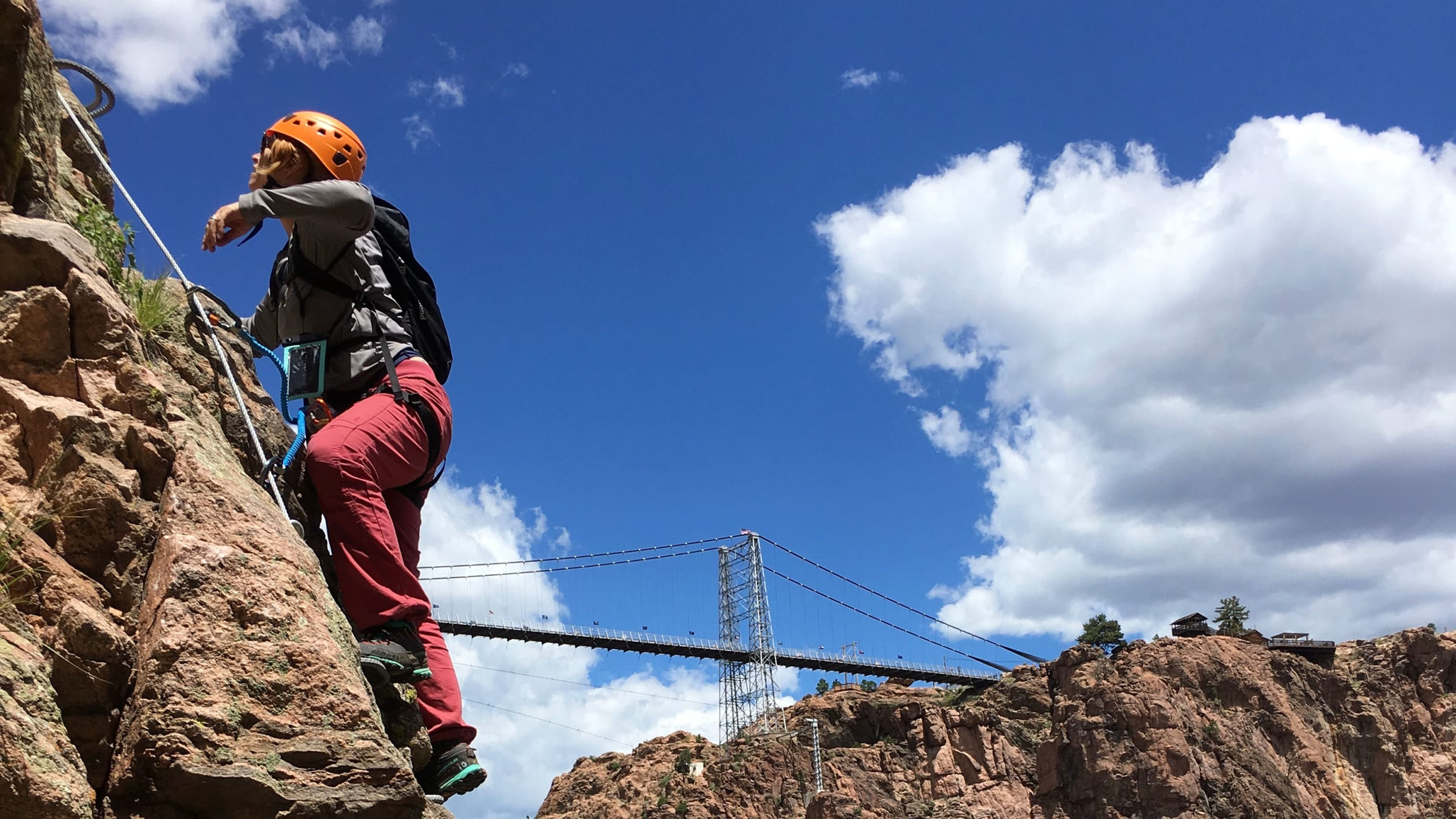 Colorado's Royal Gorge Via Ferrata: You Don't Have to be Alex Honnold to Brave This Adventure Trend