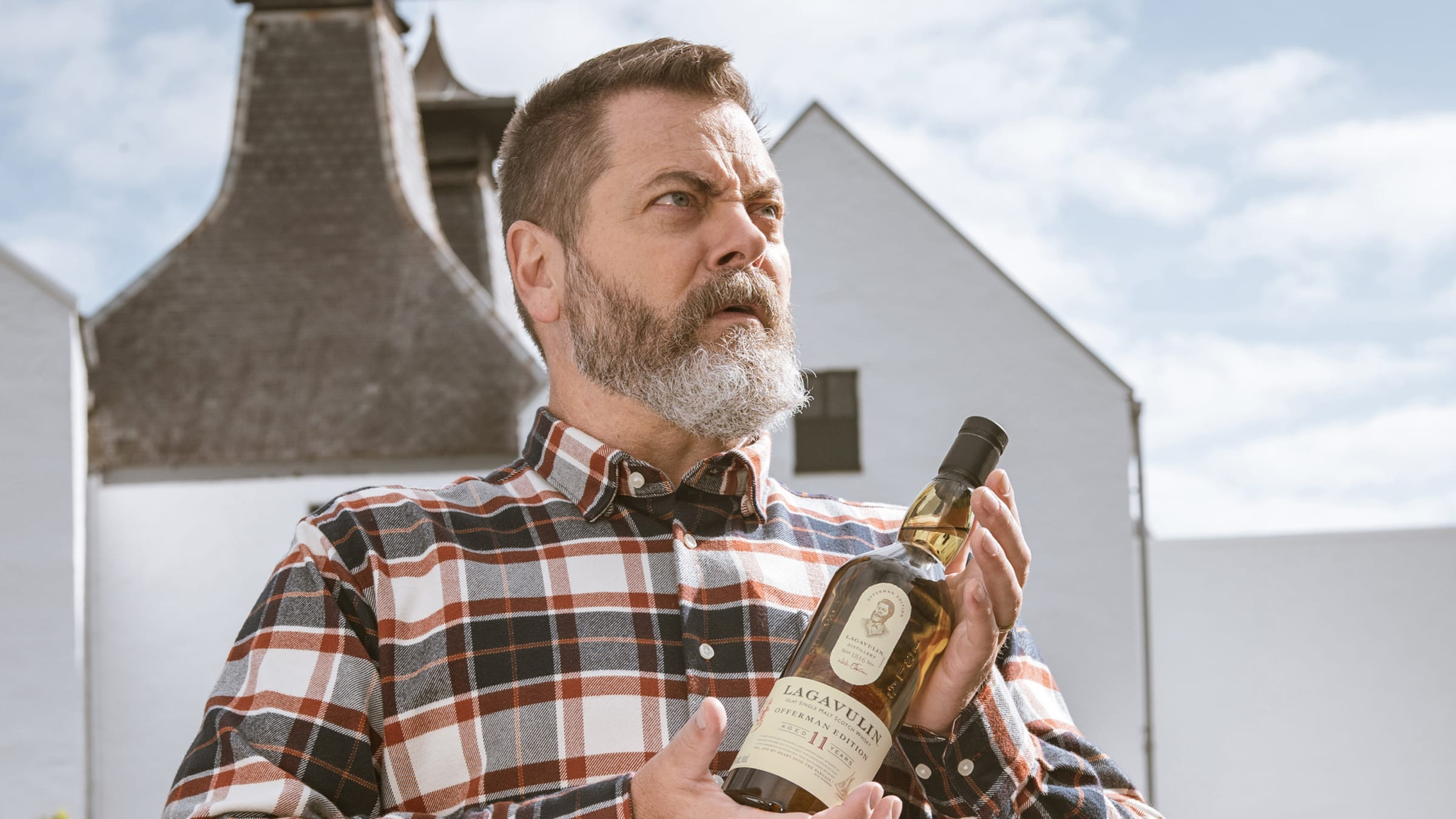 Drink Like Ron Swanson: Meet the Lagavulin Offerman Edition Single Malt Scotch Whisky