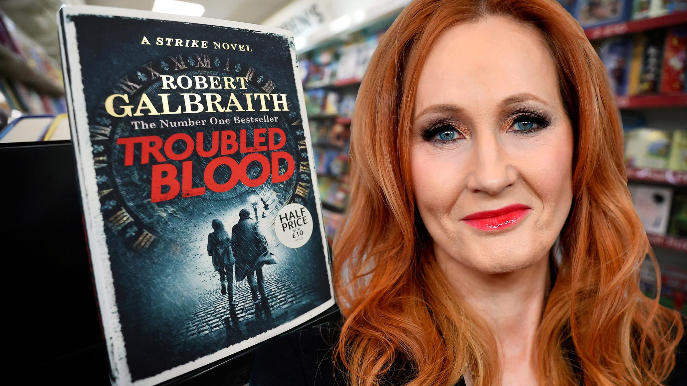 How Transphobic Is J.K. Rowling's New Novel, 'Troubled Blood?' Very.