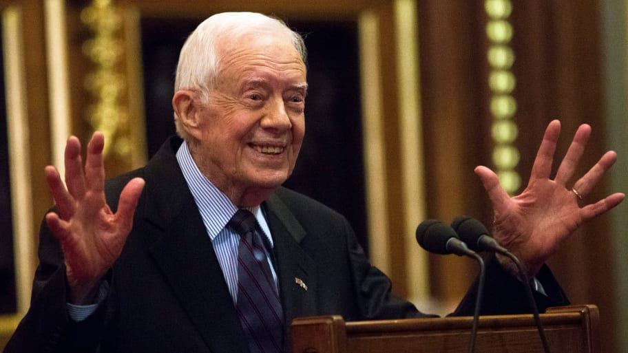 Portrait of 39th US President Jimmy Carter New 8x10 Photo
