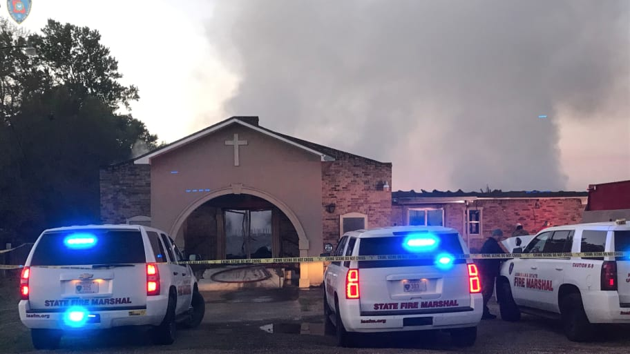 Third Black Church Set On Fire in Louisiana in Ten Days