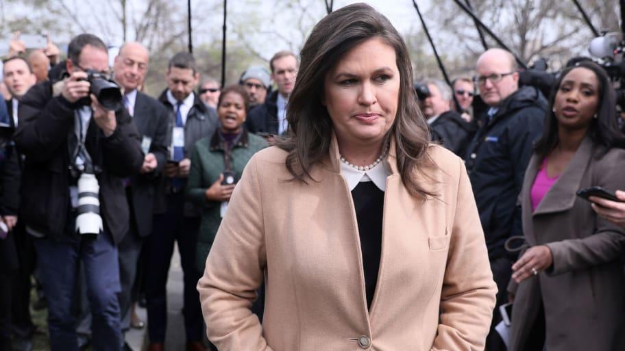 White House Press Secretary Sarah Sanders Tells Fox Sunday Lawmakers 'Not Smart Enough' to Understand Trump's Tax Returns