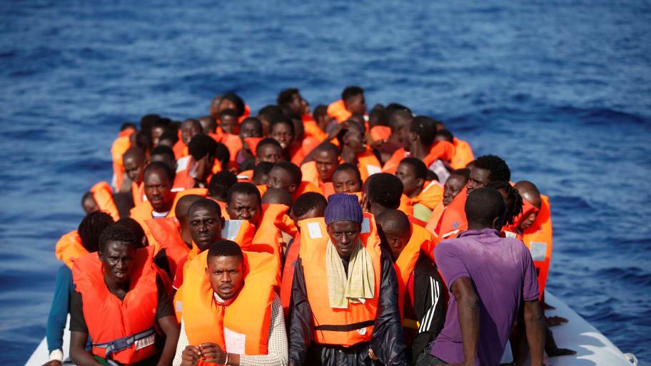European Union Fears 300,000 People Could Flee Libya as Civil War Worsens