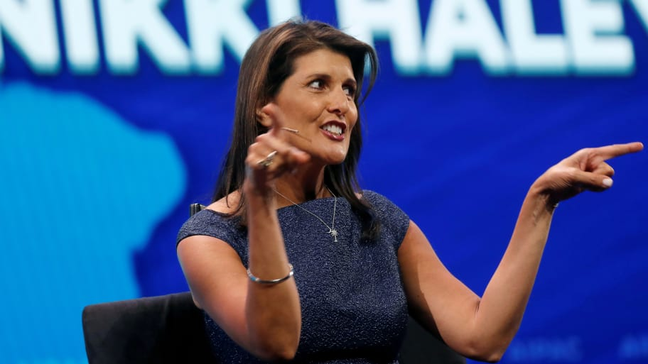 DAILY BEAST – Goldman Sachs Employees Protest Nikki Haley Appearance Over Confederate Flag Comments
