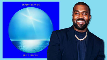 """Kanye West and his new album """"Jesus Is Born."""""""