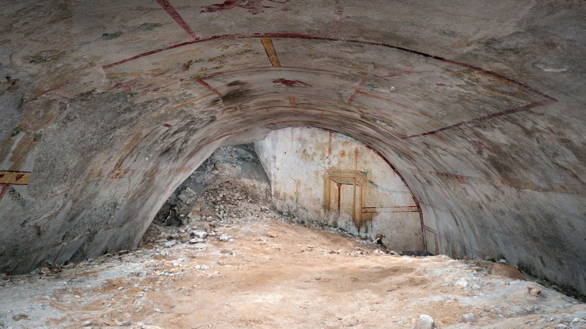 Archaeologists Uncover Hidden Chamber in Nero's Pleasure Palace Under the Colosseum