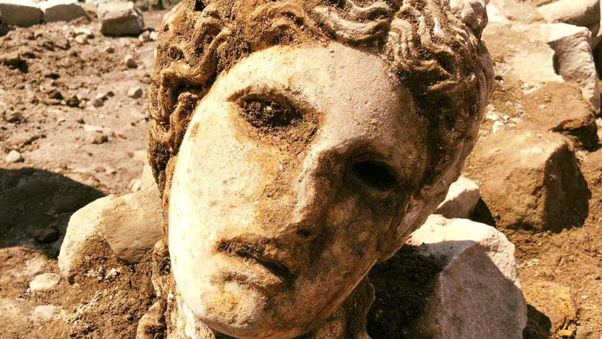 Giant Head Found in Rome of God Linked to Cult Accused of Ritual Murder and Orgies