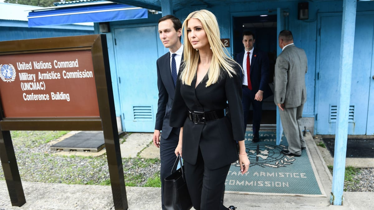 Ivanka Trump's North Korea Photobombs Perplex White House Officials