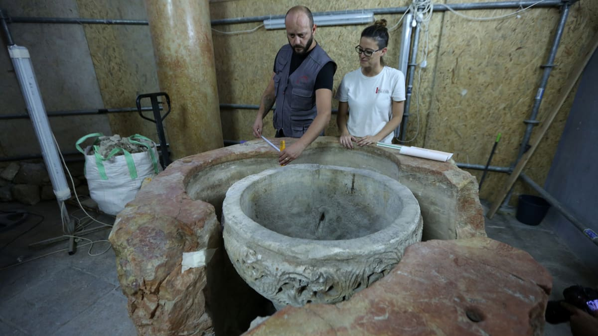 Inside the 'Magnificent' Discovery at Church of the Nativity