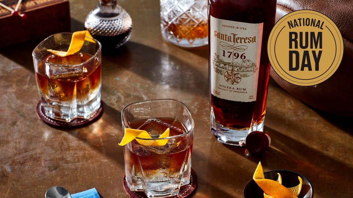 Giving Classic Cocktails a Rum Makeover