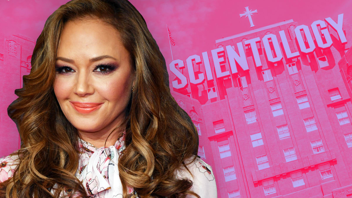Leah Remini Calls Out Trump Administration's Ties to Scientologists