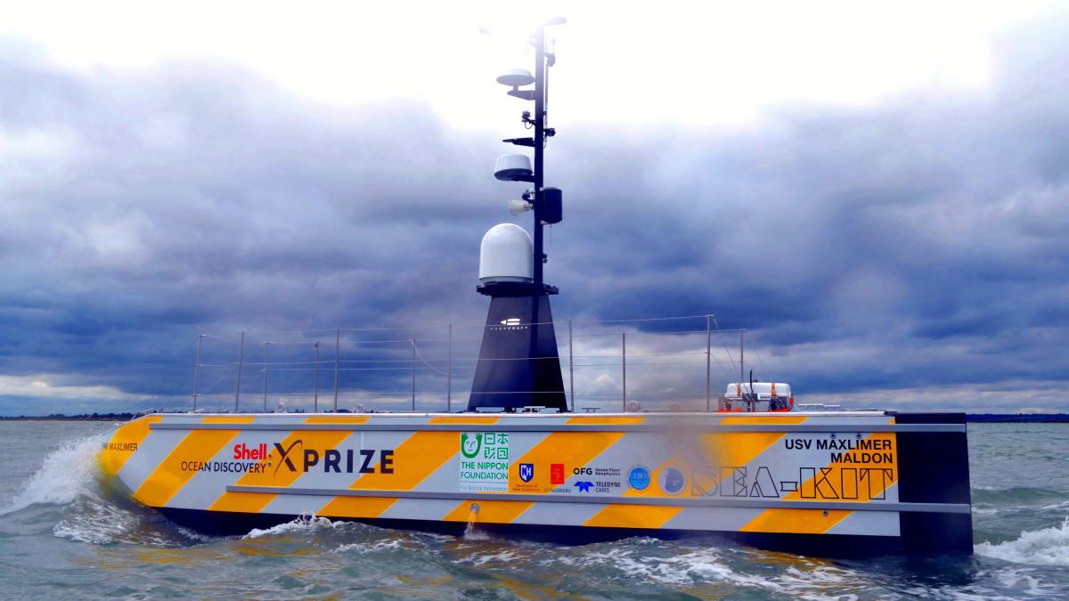 Maxlimer: The Robot Ship Set to Cross the Atlantic and Change the World