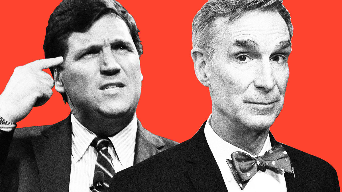 Bill Nye Wants a Climate Debate Rematch With Fox News' Tucker Carlson