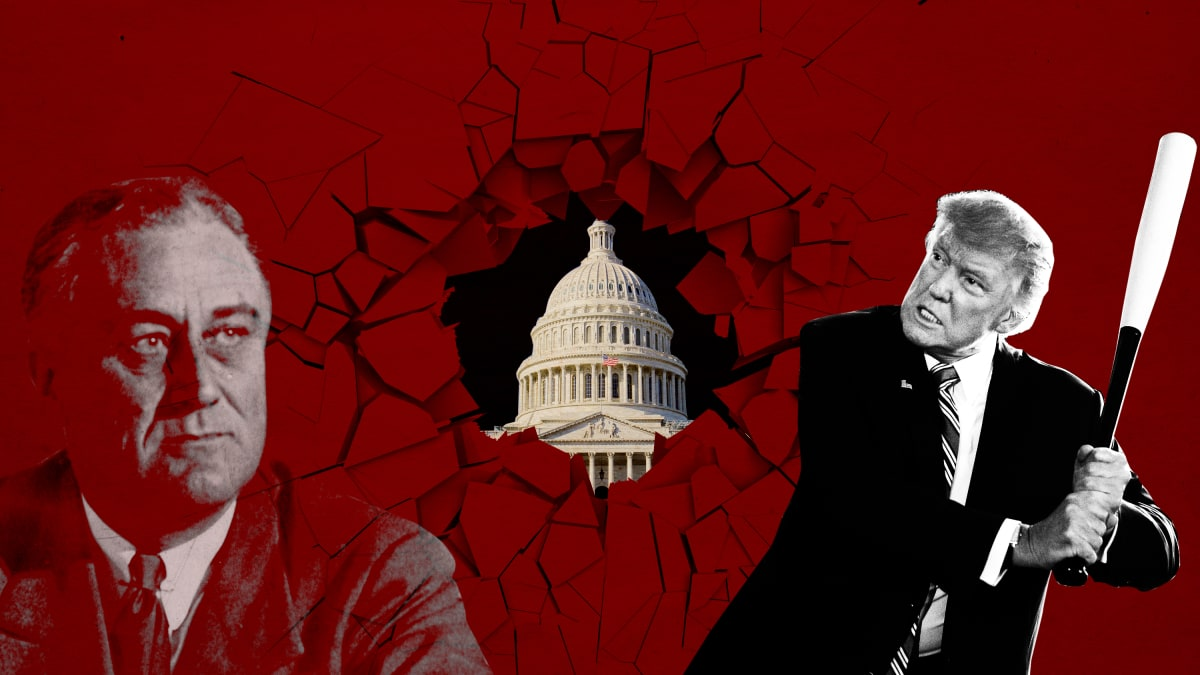 If FDR Built It, Donald Trump Wants to Destroy It