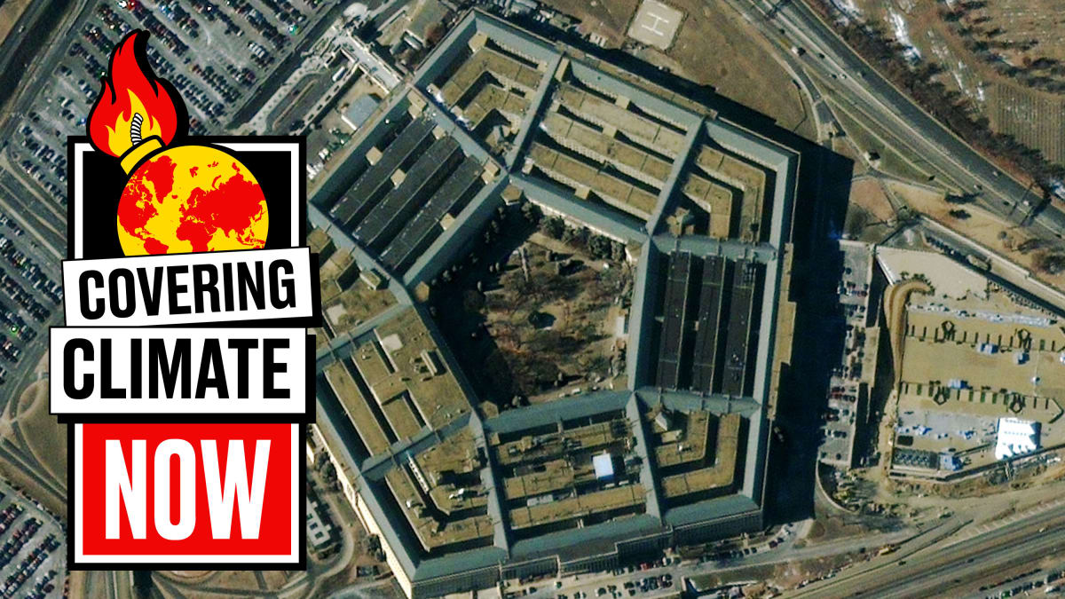 The Surprising Ally in Fighting Global Warming: The Pentagon