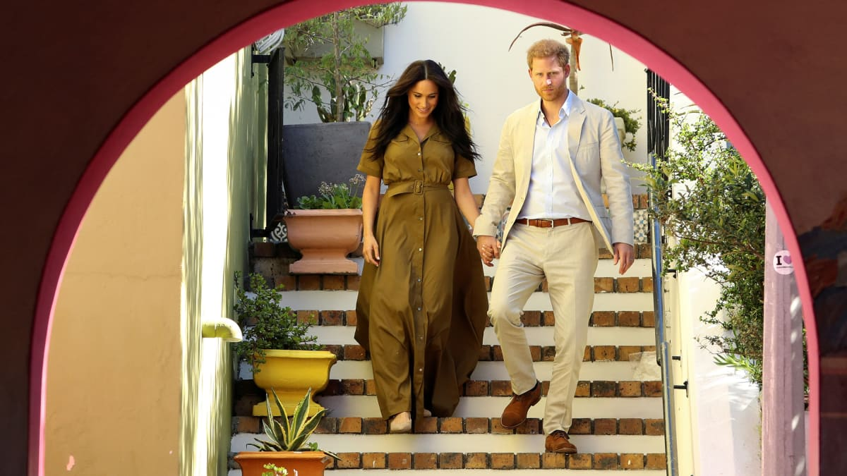 The Media Loves Meghan Markle and Prince Harry Again, Thanks to Baby Archie's Africa Photos