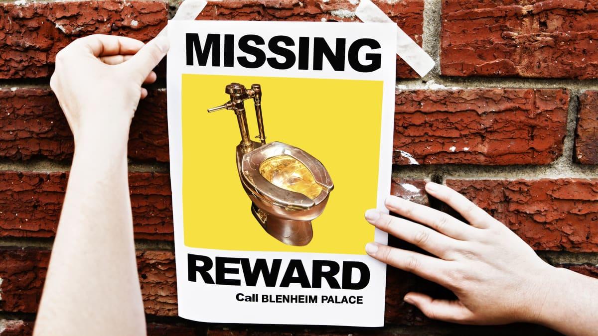 How an 18-Karat Gold Toilet Was Stolen From Winston Churchill's Childhood Palace