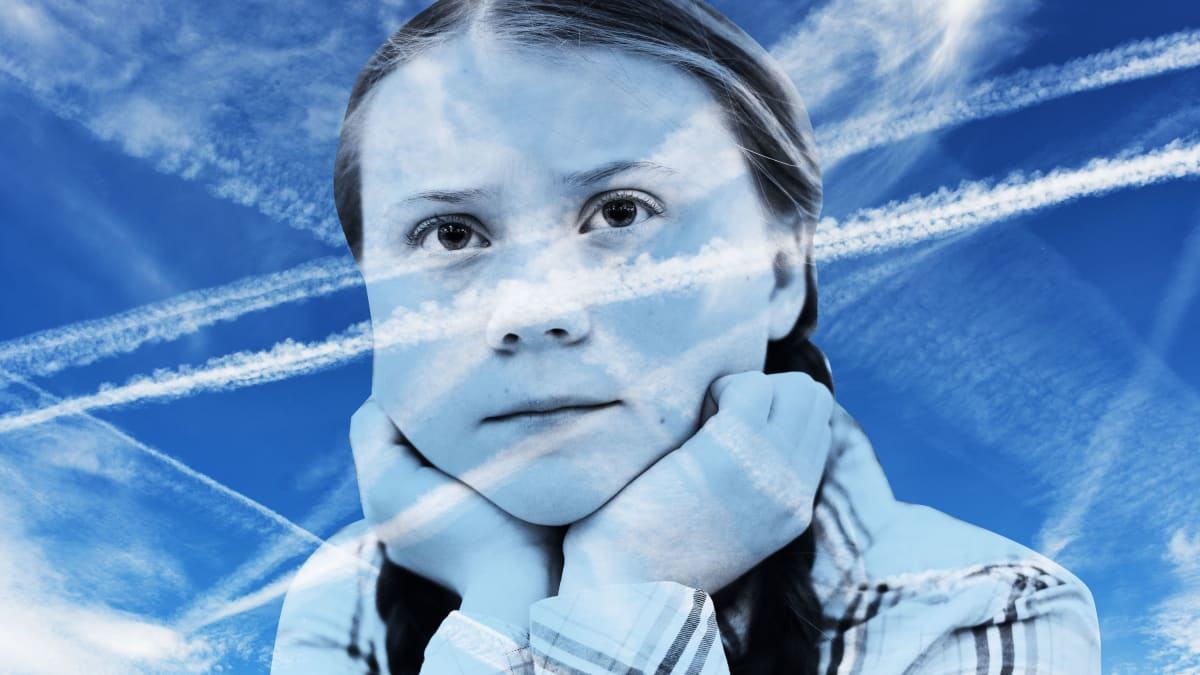 Chemtrail Truthers Are Coming After Greta Thunberg