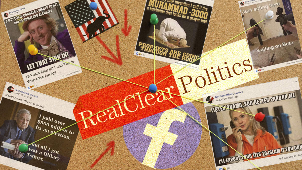 RealClear Media Has a Secret Facebook Page Filled With Far-Right Memes