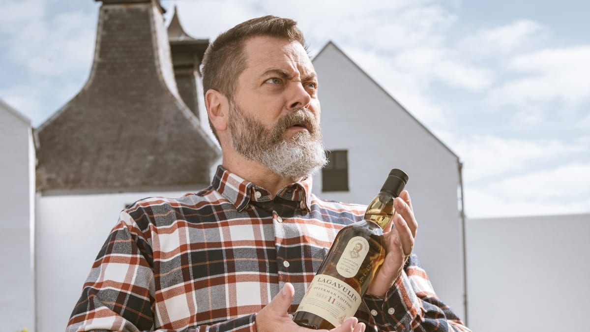 Drink Like Ron Swanson: Meet the Lagavulin Offerman Edition Single Malt Scotch Whisky