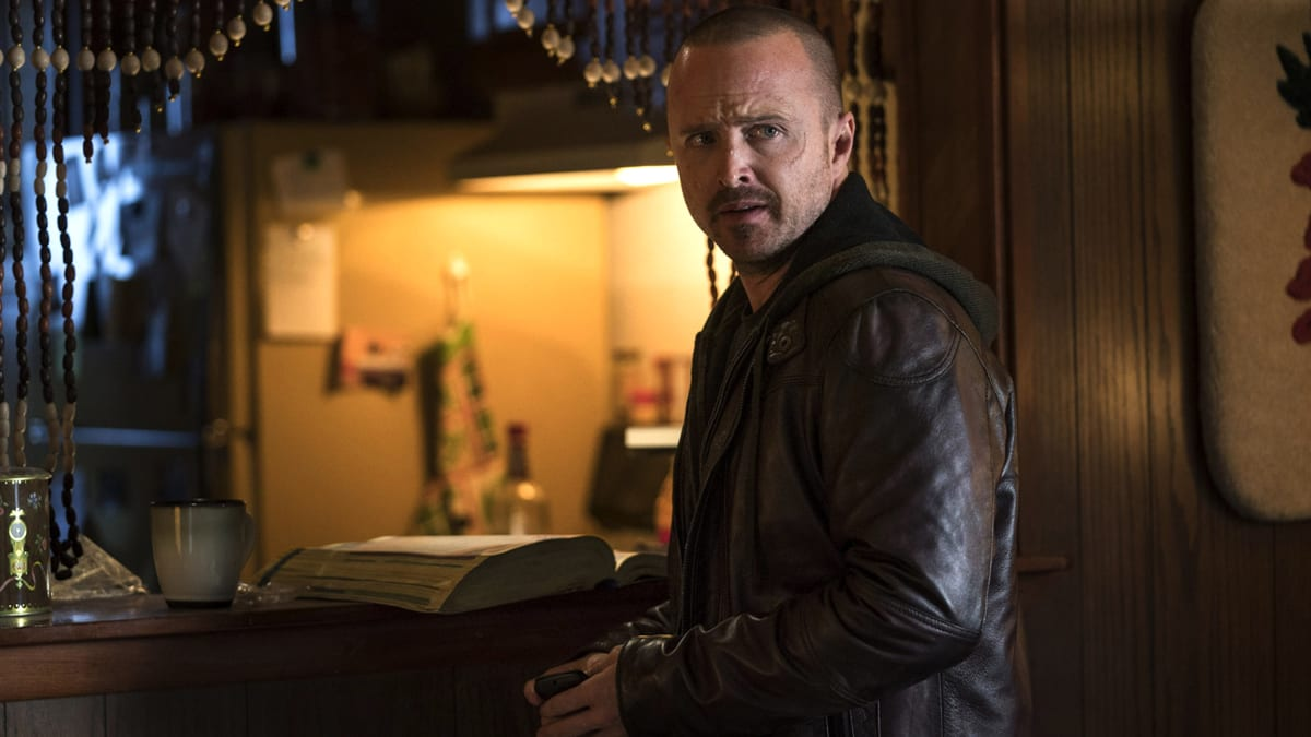 'El Camino': Aaron Paul on Jesse Pinkman's 'Heartbreaking' Reunion With Bryan Cranton's Walter White