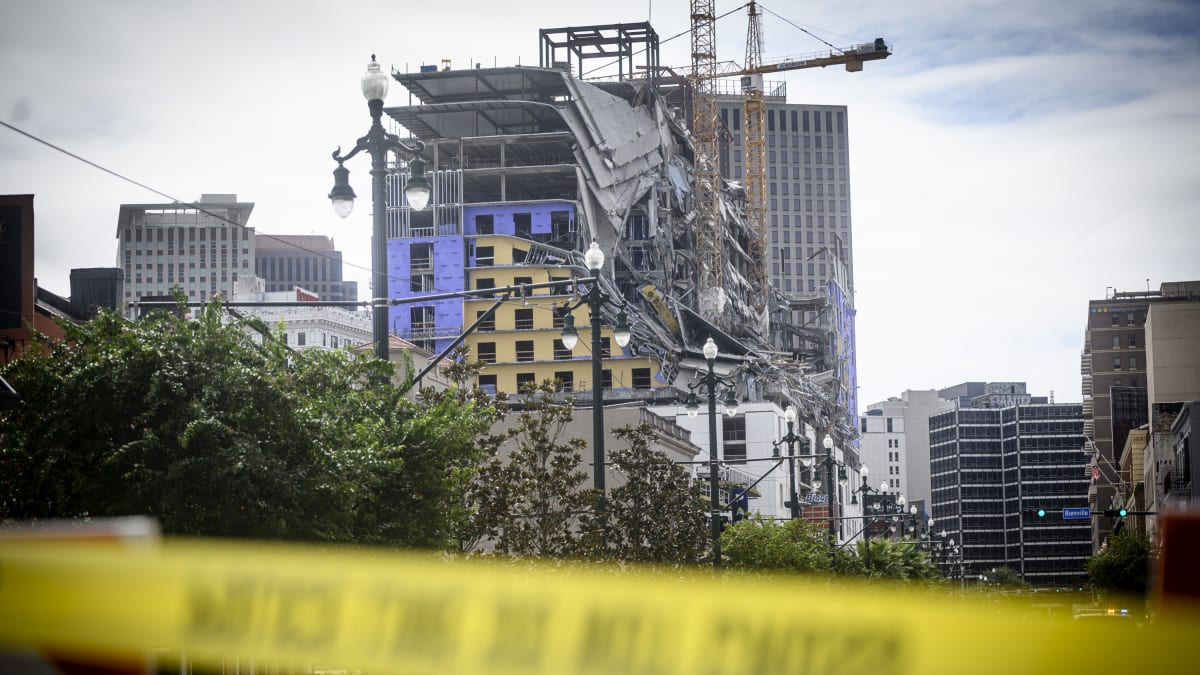 Worker Injured in New Orleans Hard Rock Hotel Collapse Detained by Immigration Authorities