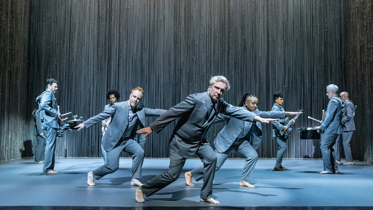 David Byrne Reveals His Powerful Vision of 'American Utopia' on Broadway—And Some Talking Heads Classics, Too