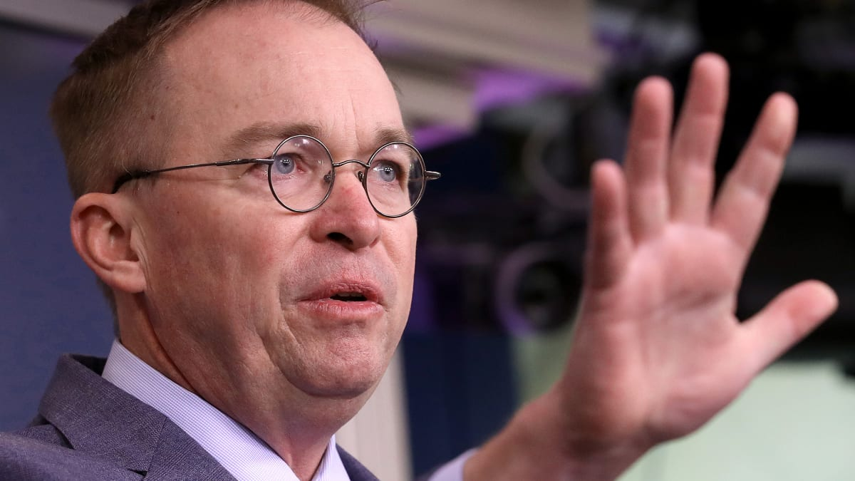 Mick Mulvaney's Ukraine Story Undercut by Trump's Former Diplomat to the Country