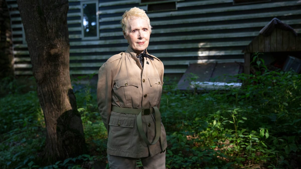 E. Jean Carroll, Who Accused Trump of Raping Her in Bergdorf's, Sues Him for Defamation