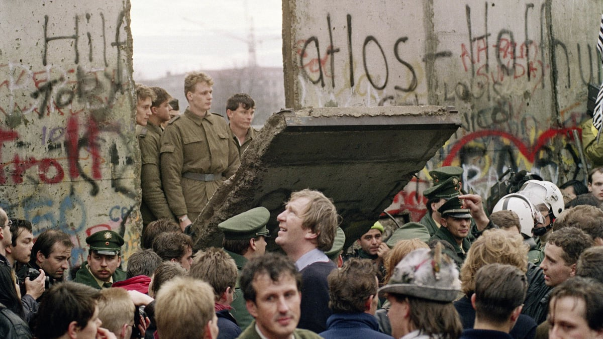The Night the Cold War World Turned Upside Down: 30 Years Ago, Germany Tore Down the Berlin Wall