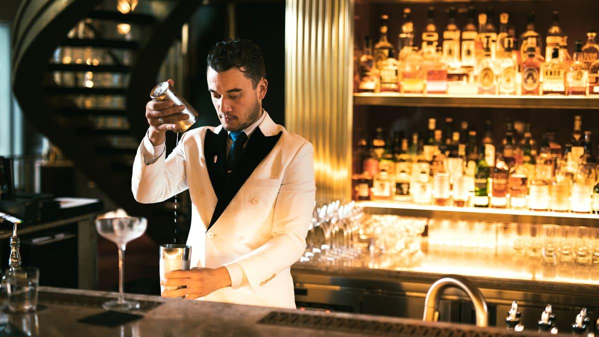 The Workout Diary of Talented Bartender Jesse Vida from Atlas Bar in Singapore