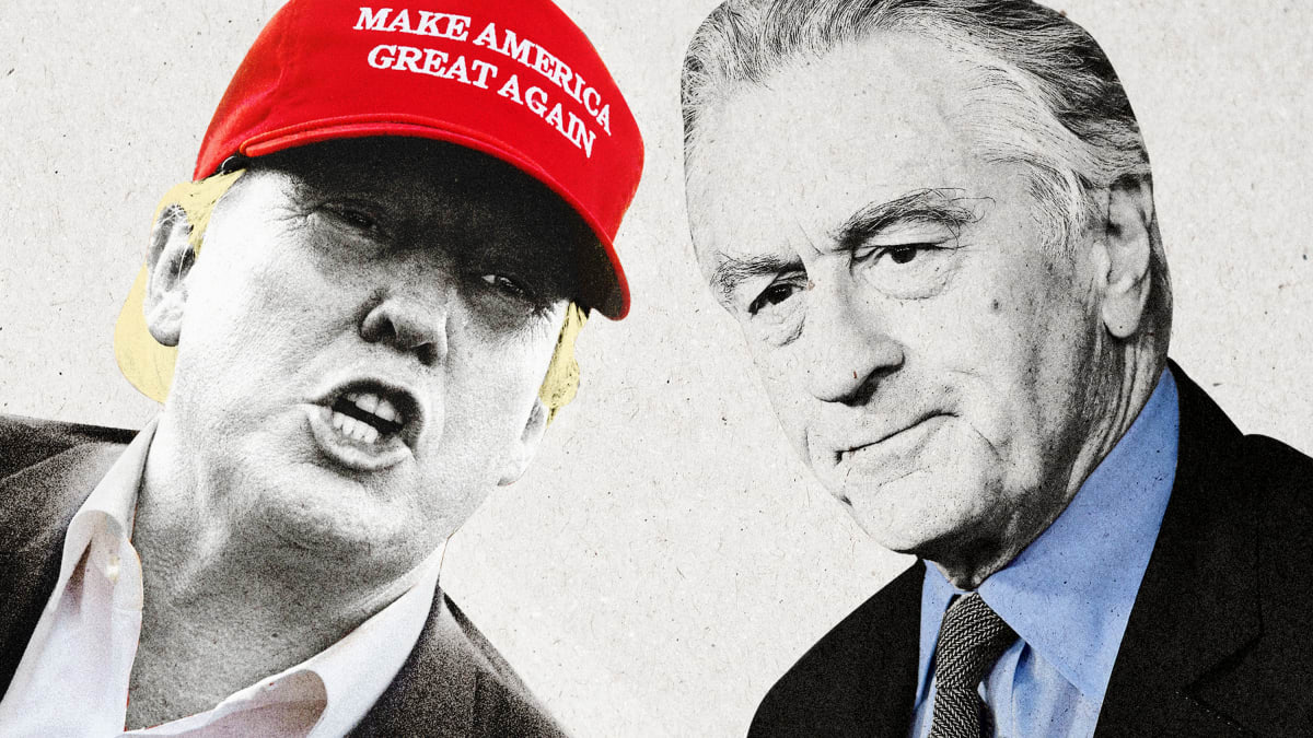 Robert De Niro Believes Trump Will Start a War So He Can Serve Three Terms as President