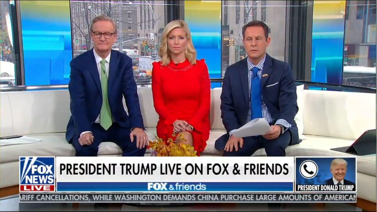Trump Attacks Women and Annoys Host Brian Kilmeade in Rambling 'Fox & Friends' Interview