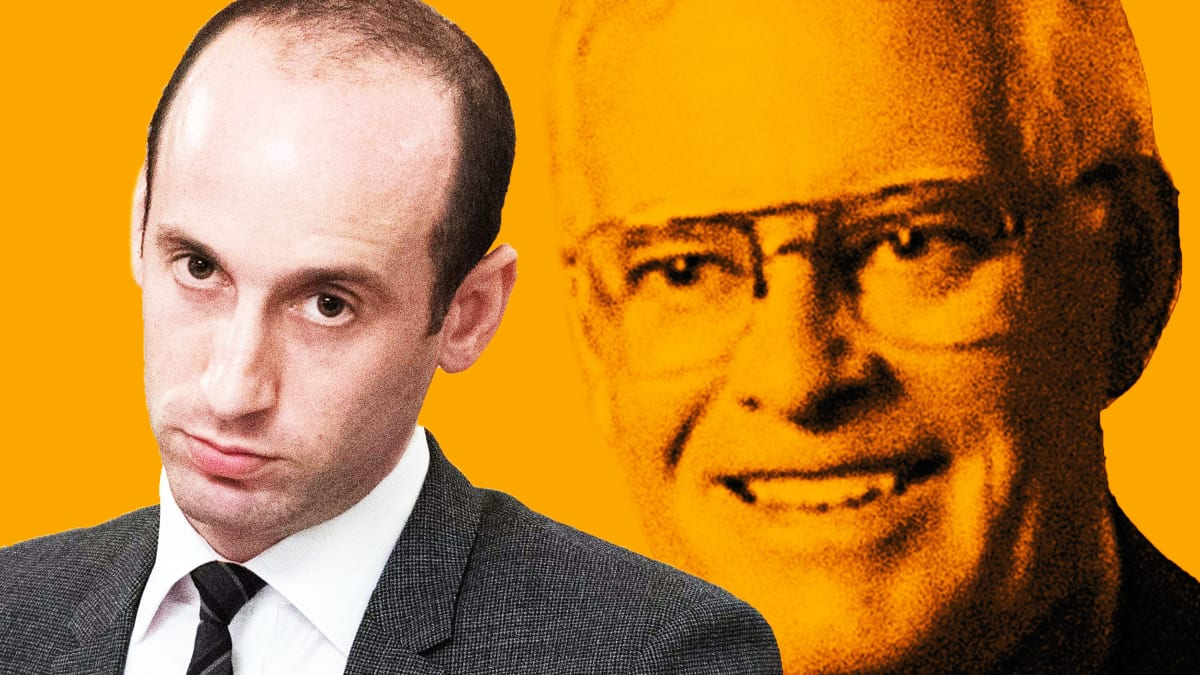 The Creepy Racist Network Behind Trump Aide Stephen Miller