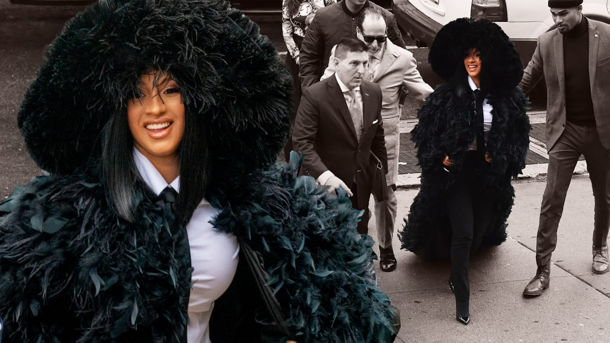 Cardi B Is Guilty... of the Best-Ever Celebrity Court Fashion