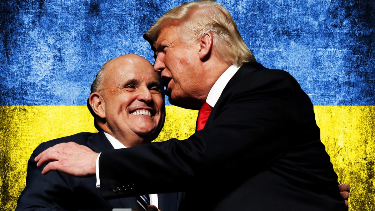 Trump Tells Rudy to Keep Pushing the Biden Conspiracies