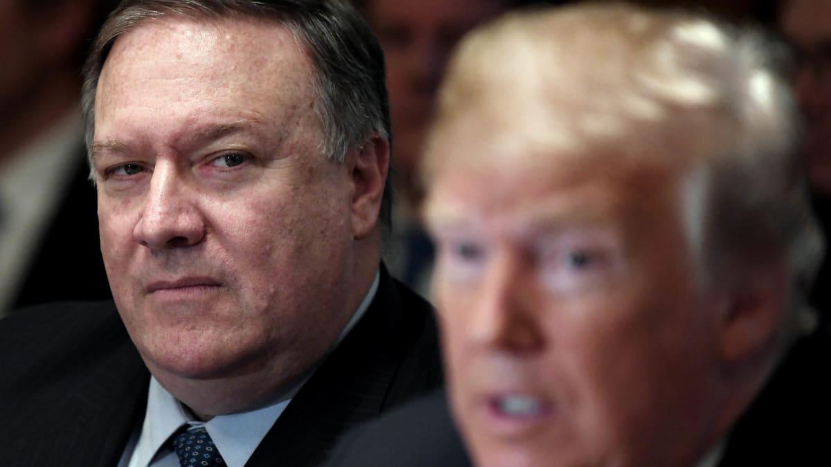 Trump Pulled Plug on Pompeo's November Ukraine Trip Over Impeachment Heat